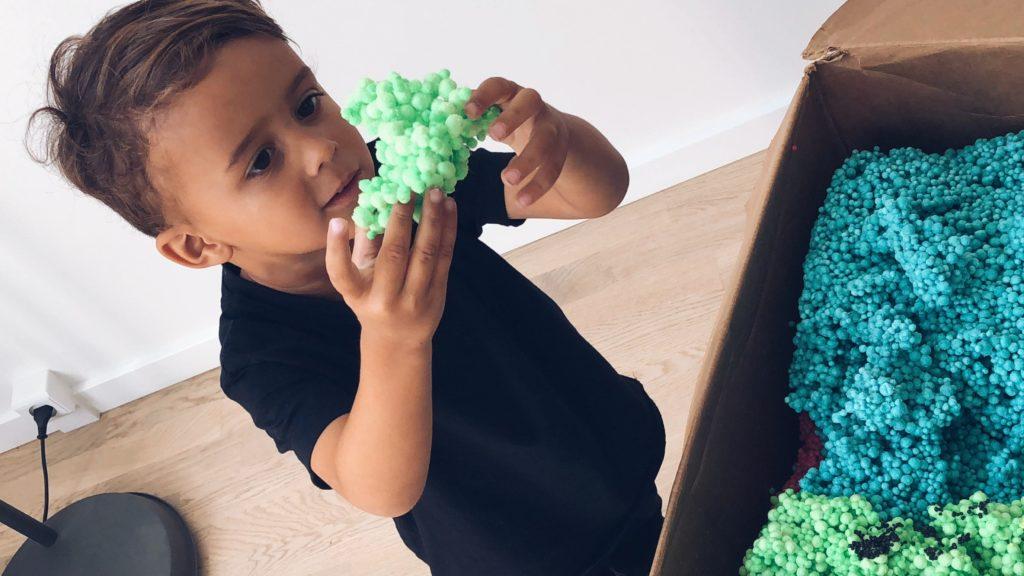 """Molecules fra toys""""r""""us kreativ leg anmeldelse momster test"""